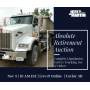 Absolute Retirement Auction Complete Liquidation Garrys Trucking and Others