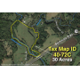 30 +/- Acres w/River Frontage & Creek Frontage in Madison, VA--Sells to the Highest Bidder!!