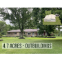 GREAT BRICK RANCH HOME AND OUTBUILDINGS