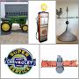 VINTAGE TRACTORS, IMPLEMENT, SIGNS & TOY AUCTION