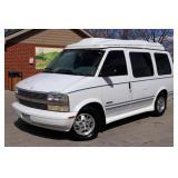 1995 Chevrolet Astro Wheelchair Conversion Van