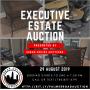 Executive Estate Auction - Cub Cadet Riding Mower, Furniture, Wood Chipper, Glassware & Decor