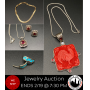 Jewelry Auction - 14K Gold, Designer Jewelry, Sterling, Swarovski & More! *WE SHIP*