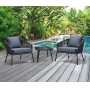 CHAIRS, STOOLS, PATIO SET, BATHTUB FAUCET, GLIDER, BED, & MORE