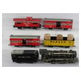 #734 Tin train lot- NYC 897 Engine