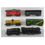 #816 Marx train lot- Engine 999