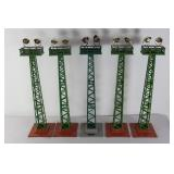 #870 Lionel Floodlight tower No. 92- 5