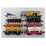 #910 Large train lot of 8- shell