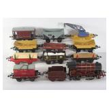 #913 Hornby Train lot of 12