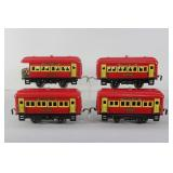 #921 Train car lot of 4- Dorfan Lines