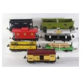 #963 train car lot of 7 incl. 816, 654,