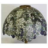 UNSIGNED. Fine Quality Leaded Glass Lamp Shade .