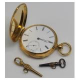 JEWELRY. 18kt Gold Patek Philippe Repeater.