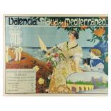 """DESFILIS, A. """"Valencia - Placia Del Mediterraneo"""""""