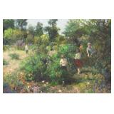 SCHMID, Richard. Oil on Canvas. Strawberry Field.