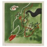 "MASON, Andre. Color Aquatint. Untitled From ""Album"