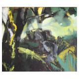 KOBERLING, Bernd. Oil on Canvas. Untitled 1979