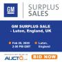General Motors Surplus Sales - Luton, England, UK