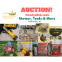 Mower, Tools & More!