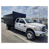 2008 Dodge Ram 5500 Crew Cab Heavy Duty Dump Body Truck