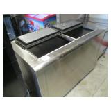 Stainless Steel Nelson Chest  Freezer$800 #144