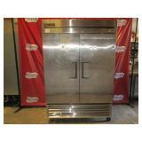 True 2 DR SS Freezer (#189) $1700