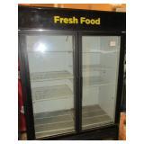 True 2DR Merchandiser Refrigerator (#199) $1700
