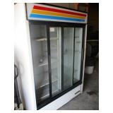 True 2 Door Refrigerator Merchandiser (#211) $1700