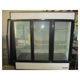 True 3 Door Refrigerator Merchandiser (221) $2000