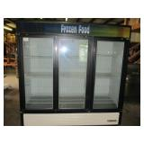 True 3 Door Freezer Merchandiser (226) $2200