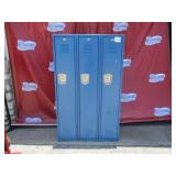 3 Door Locker, 60x36x12 (#202) $200