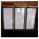 (303) Master-Bilt Glass 3 Door Freezer $2200