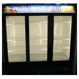 (307) True Glass 3 Door Freezer $2200