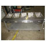 "(335) 72"" Steam Table, 5 Wells $400"