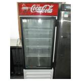 (344) Single Door Coca-Cola Merchandiser $850