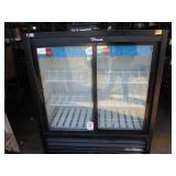 (357) True Compact Sliding Door Merchandiser $650