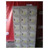 Lockers Cabinet 72h x 36w x 18d (417) $300