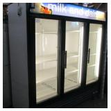True Glass 3 Door Refrigerator (307)  $2200