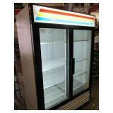 True 2 Door Glass Refrigerator (315)  $1800