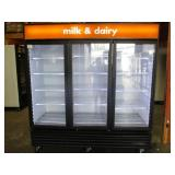 True 3 Door Glass Refrigerator (341)  $2400