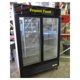 True 2 Door Merchandiser Freezer (347) $1800