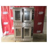 Blodgett Double Full Size Natural Gas Oven (409) $