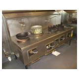 Cook Table, 4 Burner, 90""