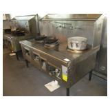 Cook Table, 3 Burner, 68""