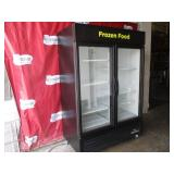 True 2 Door Freezer Merchandiser (501) $2000