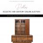 DALLAS ECLECTIC MID CENTURY ONLINE AUCTION