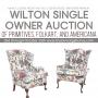 WILTON SINGLE OWNER ONLINE AUCTION
