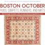 BOSTON OCTOBER RUGS, CARPETS, RUNNERS, & MATS