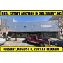 AUCTION - 8/3/21 - LARGE COMMERCIAL BUILDING IN SALISBURY, NC
