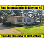 AUCTION - 11/18/21 - HOUSE AND LOT IN CLAYTON, NC